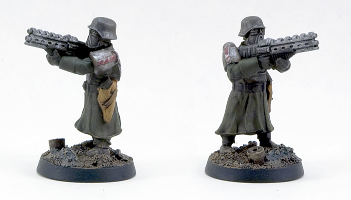 Wargames Factory Shock Troops FINISHED (2/2)
