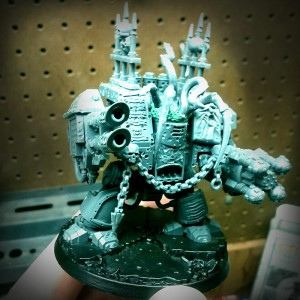 Chaos Dreadnought made from Venerable Dreadnought