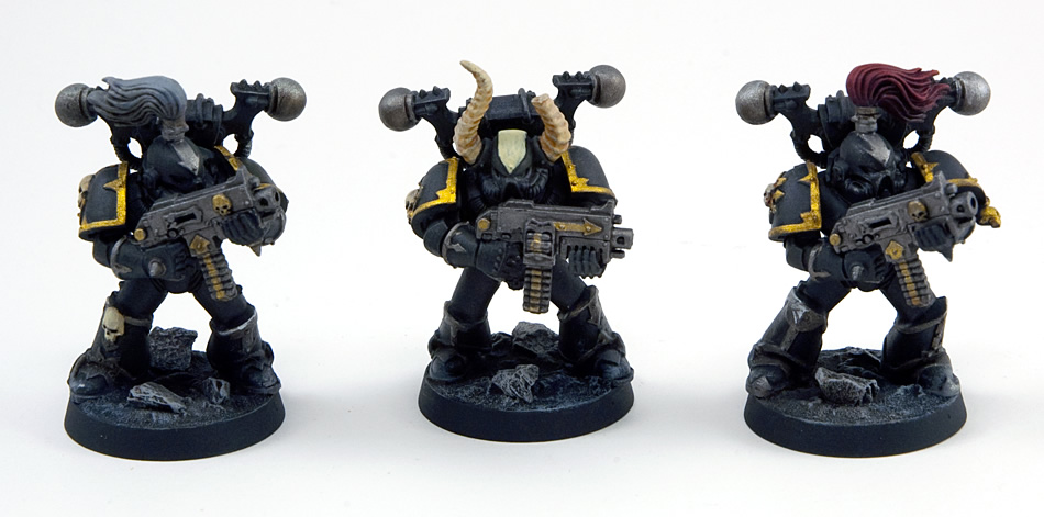 Proper Photos of My First Chaos Space Marine Squad (4/4)