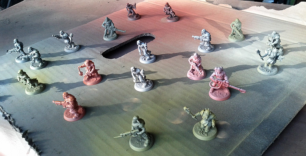 Painting Chaos Cultists: Quick and Easy, Part One (4/5)